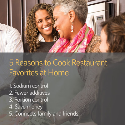 5 Reasons to Cook Restaurant Favorites at Home