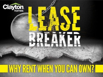 Clayton Homes is covering the cost of terminating your lease when you buy a Clayton Home in April.