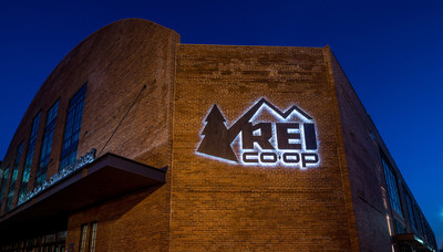 REI's fifth flagship store opens in historic Washington Coliseum this week in Washington, D.C. Credit: CallisonRTKL Inc.