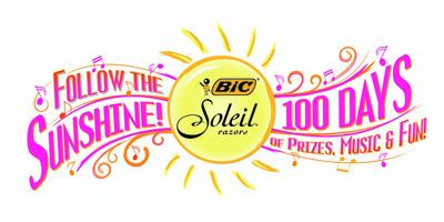 BIC® Soleil® Razors Launches Follow the Sunshine Promotion