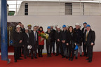 Seabourn Holds Traditional Maritime Coin Ceremony For Newbuild