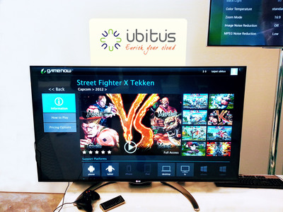Ubitus GameNow(tm) cloud gaming service live at Google I/O 2013.  (PRNewsFoto/Ubitus Inc.)