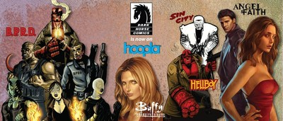 Dark Horse Comics now available on hoopla digital.