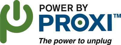 PowerbyProxi logo. (PRNewsFoto/PowerbyProxi) (PRNewsFoto/POWERBYPROXI)