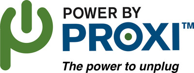PowerbyProxi logo.