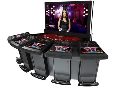 Created with the Millennial in mind, Scientific Games electronic table systems empower community play with the PRIZM Game Table, an industry first, featuring Table Master(R) Fusion PLAYBOY(TM) Bonus Blackjack.