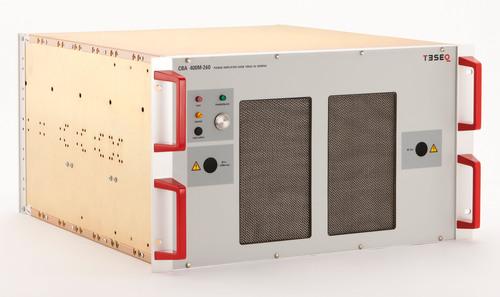 Broadband Amplifier Line from Teseq Offers Low Distortion, Reliability.  (PRNewsFoto/Teseq Inc.)