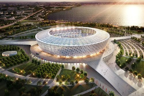 Baku's new Stadium will have a capacity of 65,000 spectators and will also host the Opening and Closing Ceremonies (PRNewsFoto/Baku 2015 European Games)