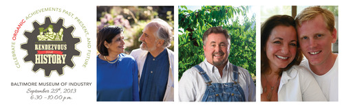 OTA 2013 Organic Leadership Award honorees, shown from left to right, are Ratana and Arran Stephens, Kyle ...