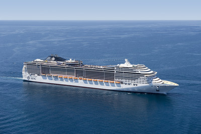 MSC Cruises welcomed back MSC Divina - one of the cruise line's newest and most ultra-modern ships, back to Miami today, where she will sail year-round to the Caribbean.