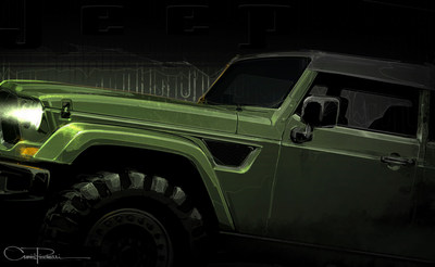 "The Jeep ""Crew Chief"" is one of seven new concepts Jeep has created for the 50th Easter Jeep Safari in Moab, Utah later this month."