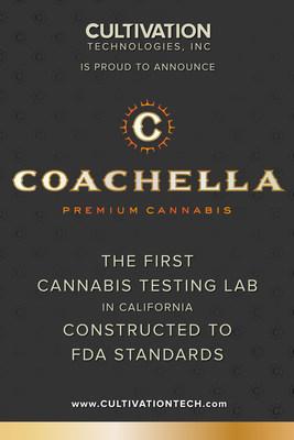 Coachella Cannabis Testing Lab, Designed by Stephen Goldner to FDA Standards
