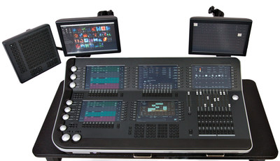 The PRG V676 Lighting Console, the choice of 7 of the 11 Emmy-nominated shows in the Outstanding Lighting Design/Lighting Direction For A Variety Series and in Outstanding Lighting Design/Lighting Direction For A Variety Special categories.
