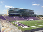 West Side Stadium Expansion Project at K-State's Bill Snyder Family Stadium is Complete and Ready for Opening Day.  (PRNewsFoto/Mortenson Construction)