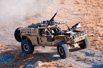 HDT Storm Search and Rescue Tactical Vehicle (SRTV).  (PRNewsFoto/HDT Global)