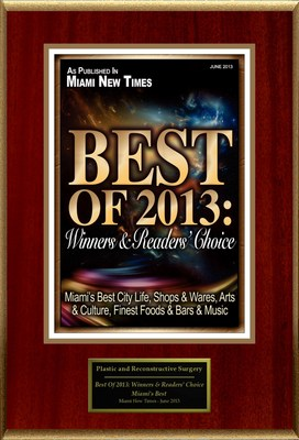 "Dr. Sam Gershenbaum Selected For ""Best Of 2013: Winners & Readers' Choice"""