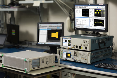 Tektronix introduced the industry's most accurate solution for characterizing and debugging IEEE 802.11ad™ transmitter PHY for silicon and system designs trying to achieve multi-gigabit wireless connectivity. The new test solution, based on the 70GHz DPO70000SX Series ATI Oscilloscope powered by SignalVu Option SV30, delivers industry best residual error vector magnitude (EVM) measurements along with easy setup for complete characterization and robust debugging capabilities.