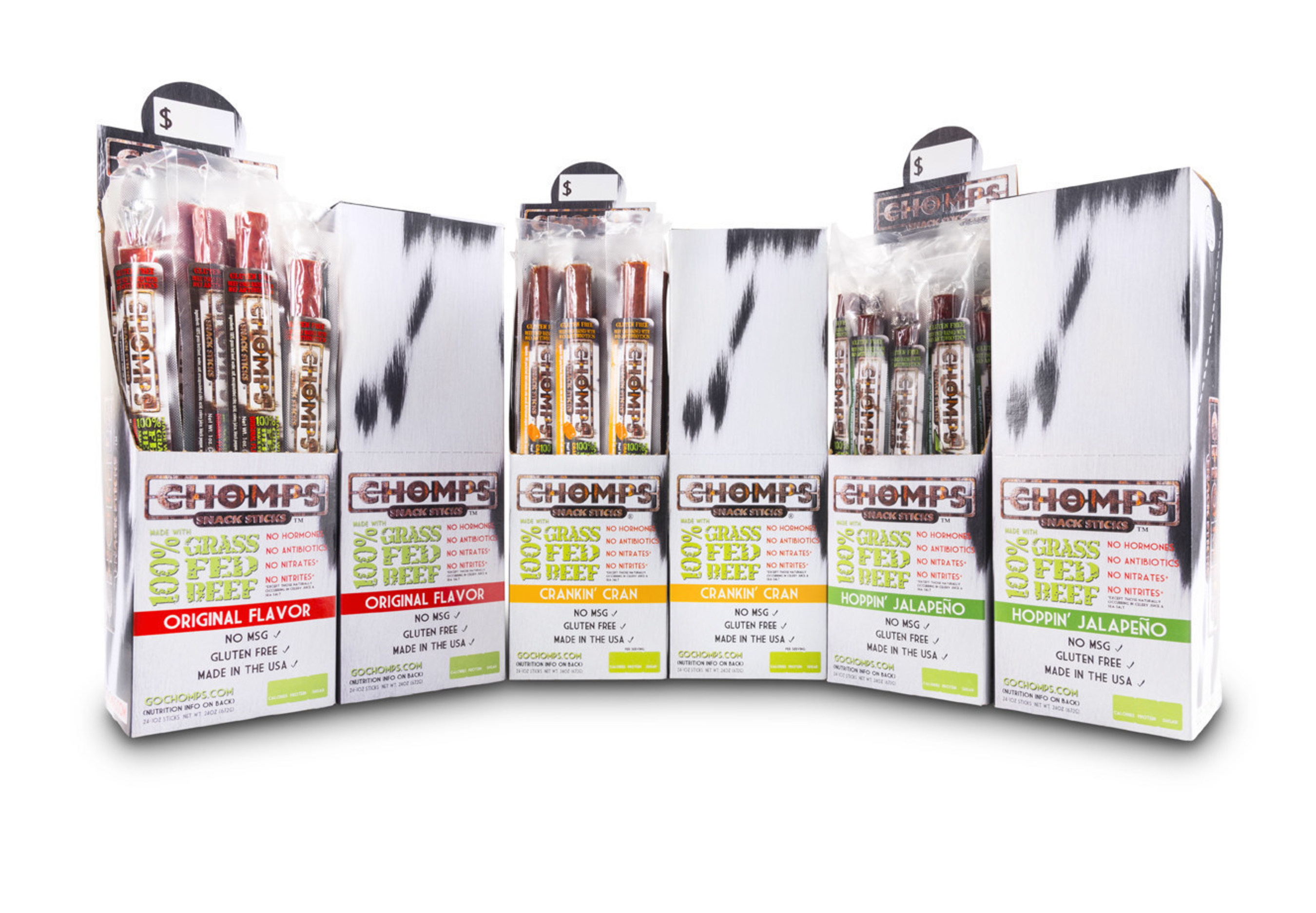 Chomps Snack Sticks Celebrates New Crankin' Cran Flavor