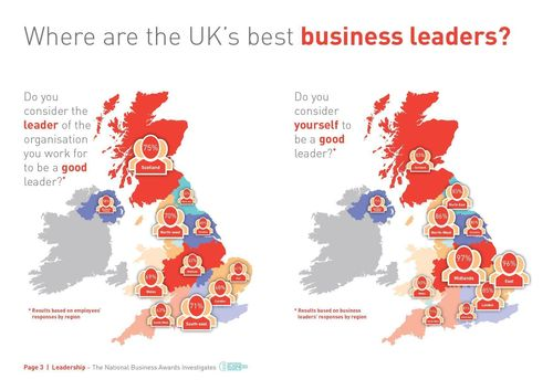 Where are the UK's best business leaders? (PRNewsFoto/National Business Awards)