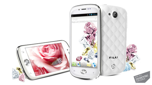 BLU Products Announces the BLU Amour Smartphone, made with SWAROVSKI ZIRCONIA, to be displayed at
