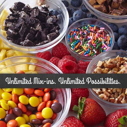 """MARBLE SLAB CREAMERY(R) AND MAGGIEMOO'S ICE CREAM & TREATERY(R) INTRODUCE NEW """"UNLIMITED MIX-INS"""" PRICING STRUCTURE (PRNewsFoto/Global Franchise Group, LLC)"""