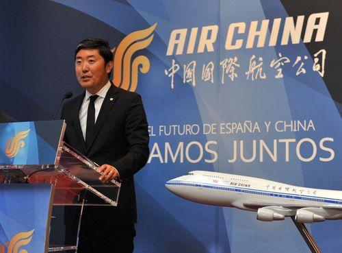 Peter Han, General Director Air China Spain (PRNewsFoto/Henkuai)