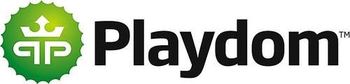 Playdom logo. (PRNewsFoto/Playdom)
