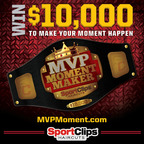 "Sport Clips Haircuts offers ""MVP Moment Maker"" for Cash Prizes, Tech Gear.  (PRNewsFoto/Sport Clips Haircuts)"