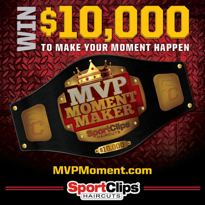 "Sport Clips Haircuts offers ""MVP Moment Maker"" for Cash Prizes, Tech Gear"