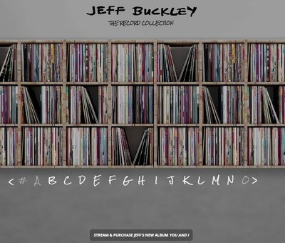 Jeff Buckley Record Collection