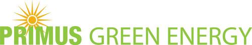 Primus Green Energy logo.  (PRNewsFoto/Primus Green Energy Inc.)