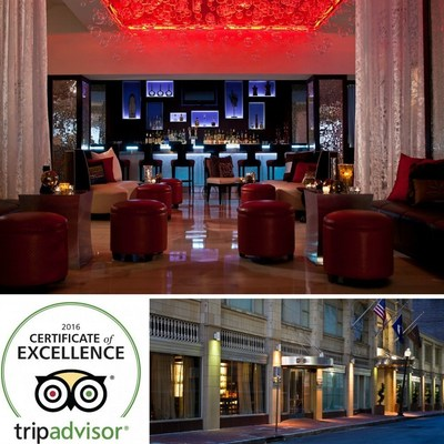 Renaissance New Orleans Pere Marquette French Quarter Area Hotel Has Earned  A 2016 TripAdvisor Certificate Of