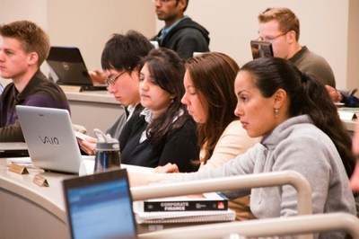 The new class of students attending the Rutgers Full Time MBA Program is 51 percent women.