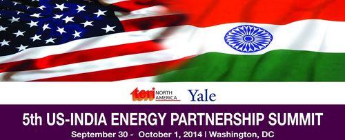 PR NEWSWIRE INDIA - 5th US-India Energy Partnership Summit (PRNewsFoto/TERI)