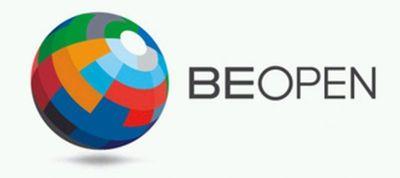 BE OPEN Logo