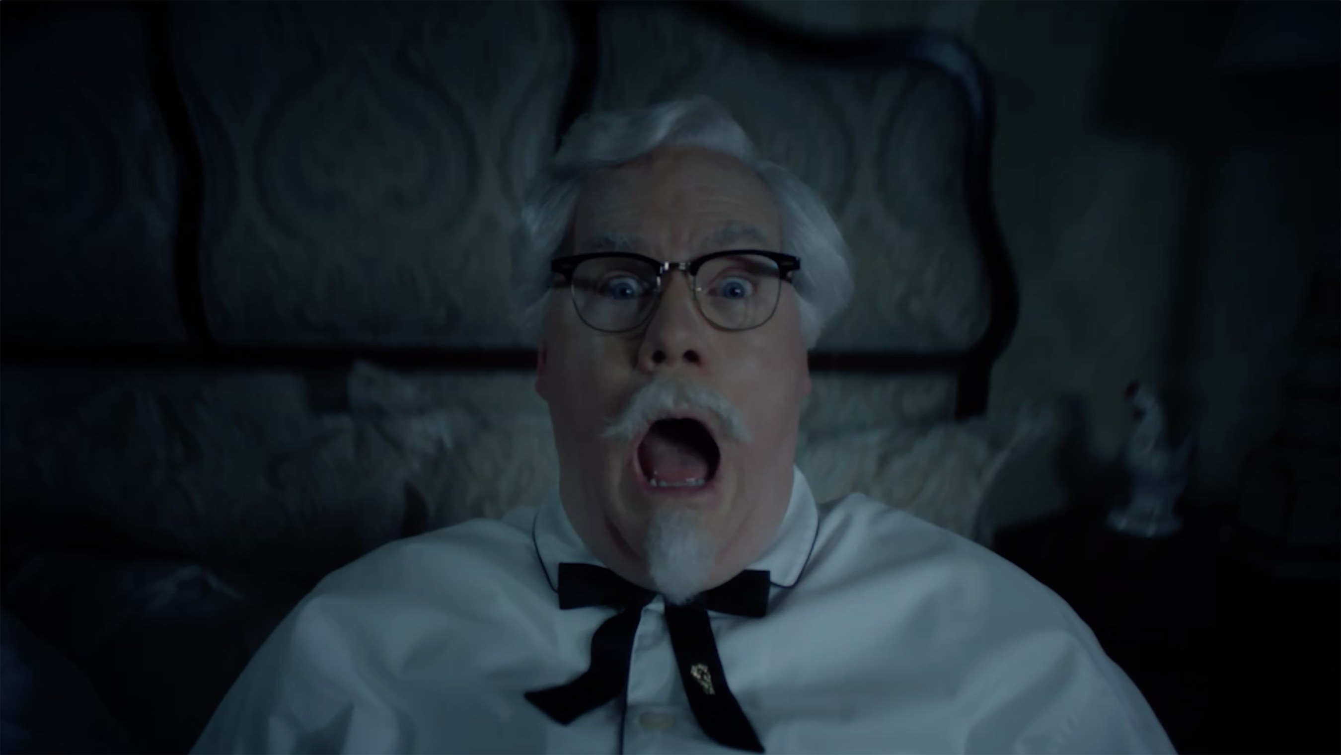 Jim Gaffigan is revealed as the real Colonel Sanders in the newest ad from KFC promoting Nashville Hot Chicken.
