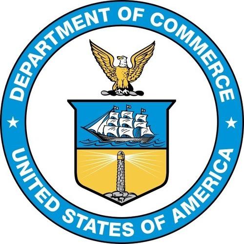 US Department of Commerce logo (PRNewsFoto/Department of Commerce Office of)