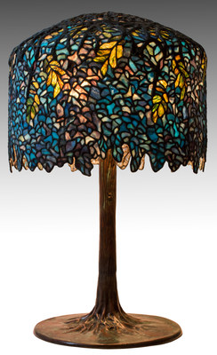 Also in the J. Levine Auction & Appraisal auction this week, but not part of the Steve Paley estate, is a Tiffany Studios Wisteria Table Lamp circa 1906 that is estimated to be worth between $400,000 and $600,000. The auctions take place Thursday, Friday & Saturday, February 25, 26 & 27 at J. Levine Auction & Appraisal in Scottsdale and EJ's Auction & Consignment in Glendale, Arizona. Preview the catalog and place bids now: www.jlevines.com or www.ejsauction.com.