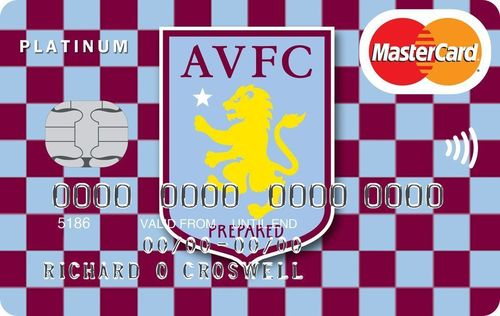 The Aston Villa credit card from MBNA (PRNewsFoto/MBNA Limited)
