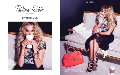 JustFab Introduces New Spring/Summer 2014 Collection by Paulina Rubio Exclusively for Its Members.  ...