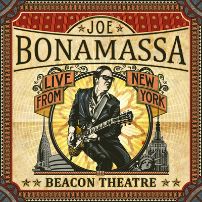 Joe Bonamassa: Beacon Theatre - Live From New York CD, out Sept. 25.  (PRNewsFoto/J&R Adventures)
