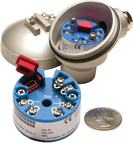 New Low-Cost Thermocouple Transmitters Feature Fast and Easy PC-based Configuration via USB