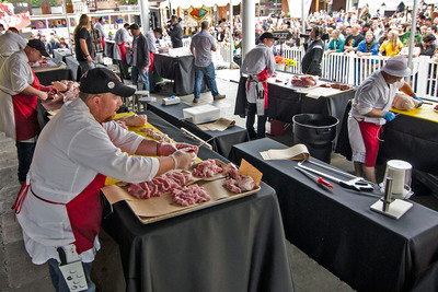 Whole Foods Market's top butchers and fishmongers go head-to-head for national championship title.  (PRNewsFoto/Whole Foods Market)