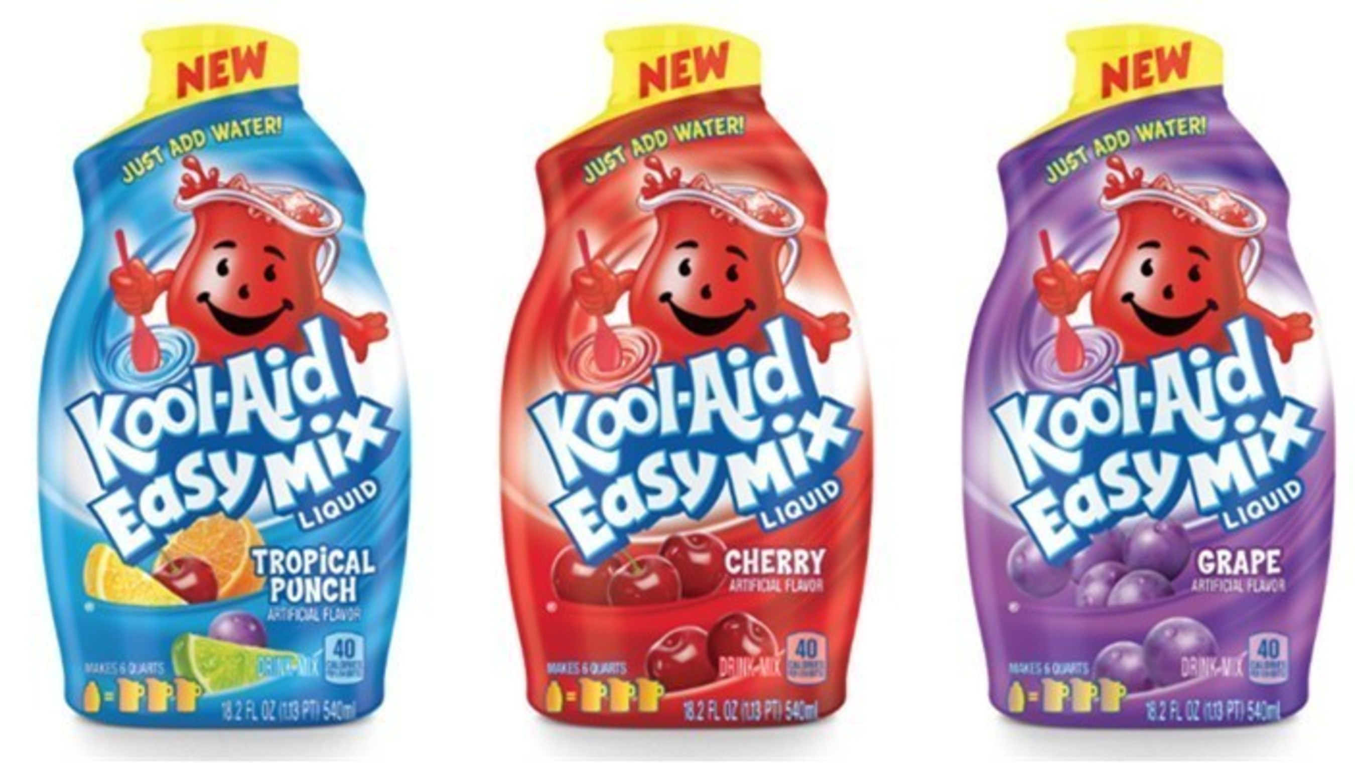 Kool-Aid Man Appears in National Television Spots Launching Today to Debut Kool-Aid Easy Mix