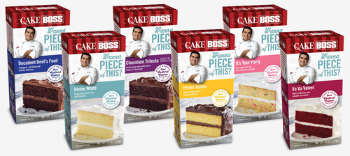 CAKE BOSS™ Cake Mixes & Frostings Available at Stores Nationwide