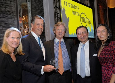 Youth INC Celebration to Benefit New York Kids Honoree Jeff Holzschuh with Event Vice Chairs Kathleen McCabe, Steve Orr, Alex Navab and Youth INC Executive Director, Rehana Farrell