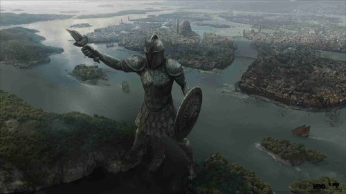 Game of Thrones Full CG Shot of the City of Braavos by Mackevision. (PRNewsFoto/Mackevision Medien Design)