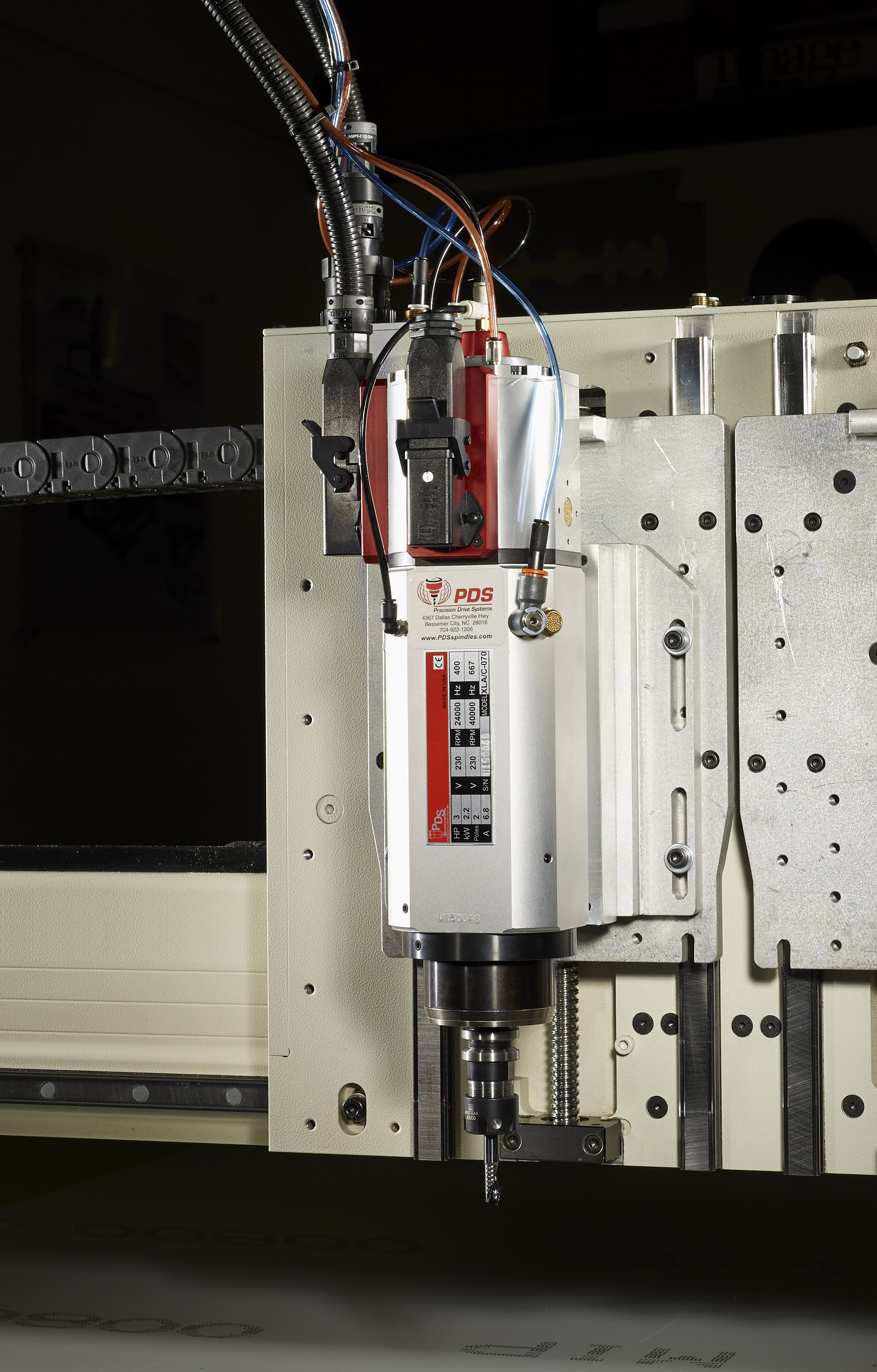 40,000 RPM High-Speed Spindle Now Available from AXYZ International