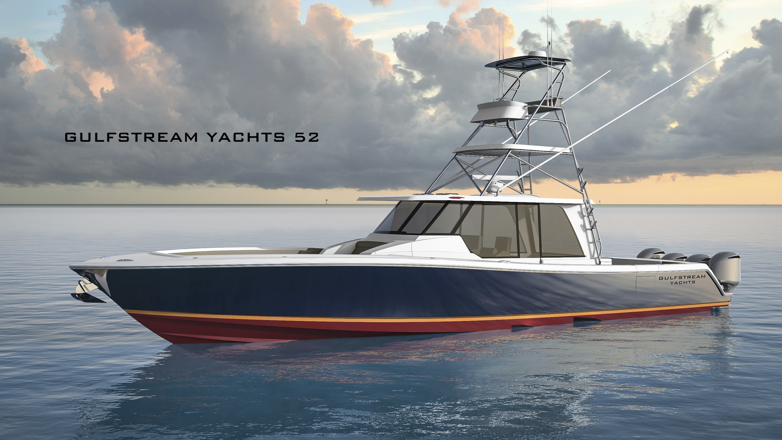 Gulfstream Yachts Unveils New 52 Foot Center Console Boat