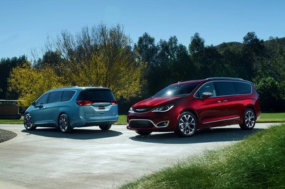 All-new 2017 Chrysler Pacifica Named to Wards 10 Best Interiors List for 2016